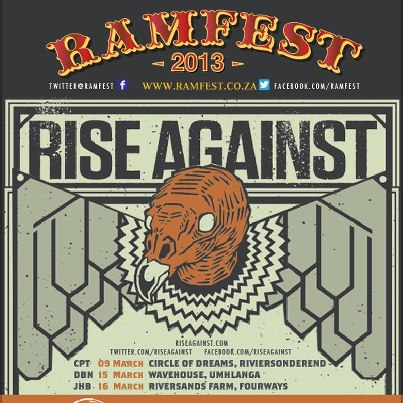 Old News Ramfest 2013 – Rise Against Headlining