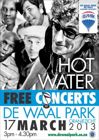 Hot Water at De Waal Park