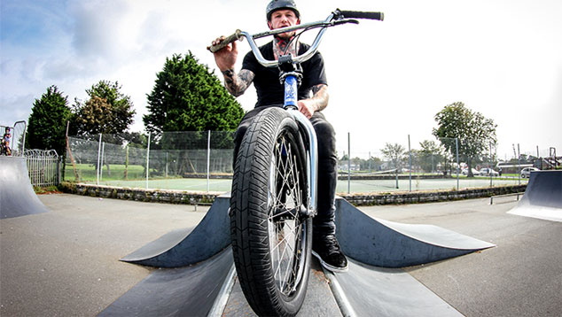Mark Webb – The Webbie Show, BMX