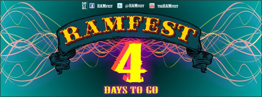 Ramfest Durban… 4 days and counting
