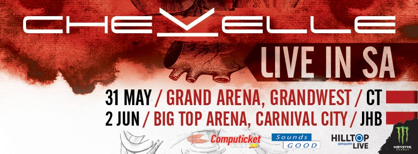 Chevelle due to visit South Africa