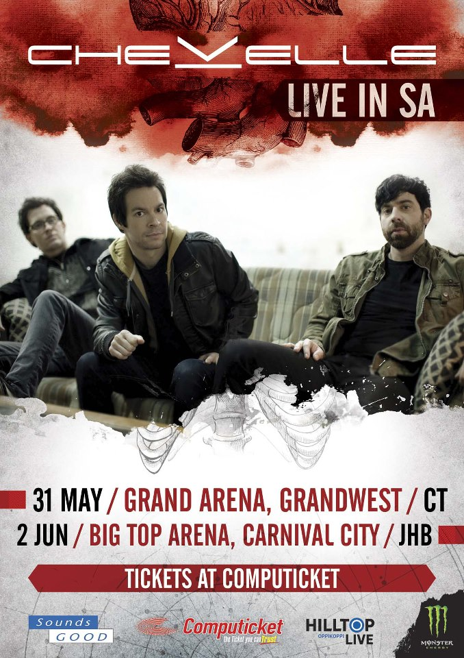 Unable to get Chevelle Tickets – Computicket/Hilltop Live bugger up