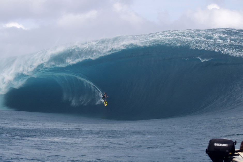 Teahupoo, Tahiti went nuts this week…