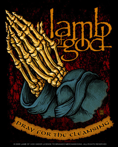 Lamb of God gracing South Africa with a visit