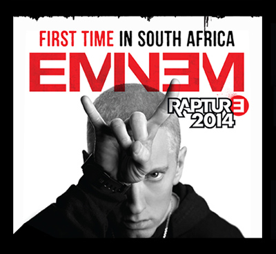 Eminem to tour SA – Cape Town and Jo'burg dates released