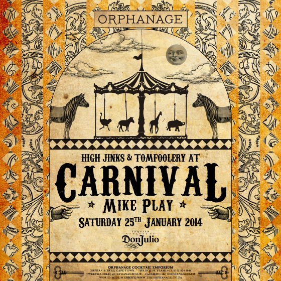 CARNIVAL AT ORPHANAGE COCKTAIL EMPORIUM