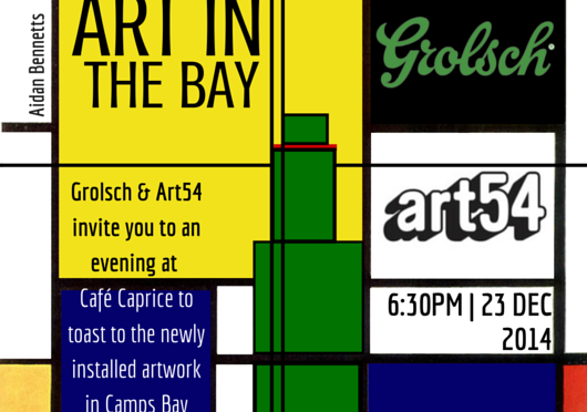 ART IN THE BAY PRESENTED BY GROLSCH AND ART54