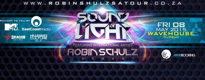 Robin Schulz live in Durban for one incredible night of Sound Of Light