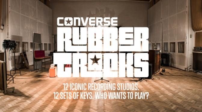 CONVERSE RUBBER TRACKS UNLOCKS THE DOORS TO ICONIC STUDIOS AROUND THE WORLD