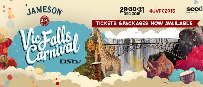 JAMESON VIC FALLS CARNIVAL LAUNCHES EXCITING NEW FORMAT FOR NEW YEARS EVE 2015