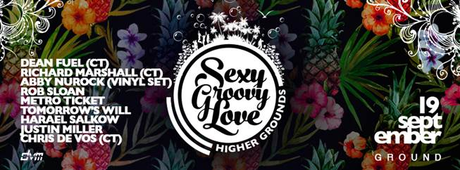 SEXY GROOVY LOVE – Jozi Has a New Playground