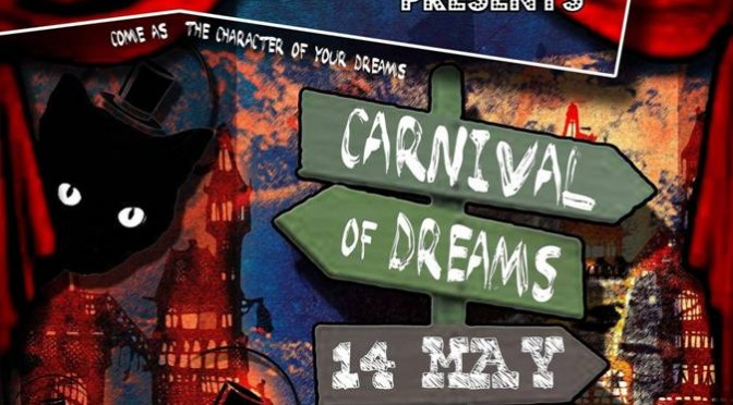 Carnival of Dreams Saturday 14 May at Hillcrest Quarry, Durbanville.