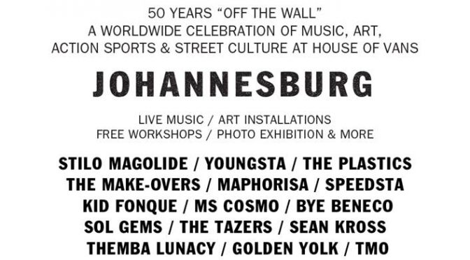 House of Vans Johannesburg presents Vans 50th Anniversary Celebrations