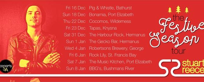 Stuart Reece Announces The Festive Season Tour This December!