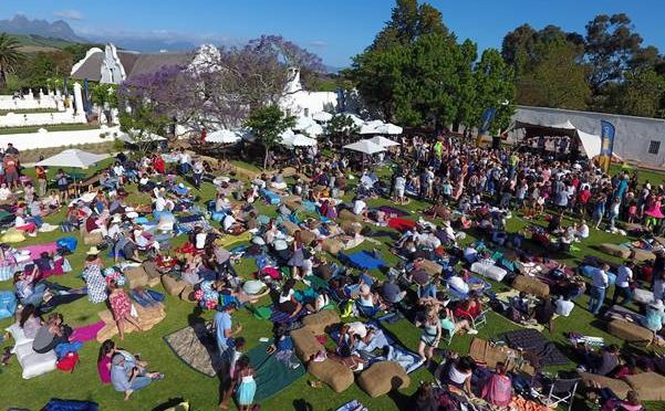 FIRST LIVE@VERGENOEGD SUMMER CONCERT FEATURING GOODLUCK DRAWS THE CROWDS