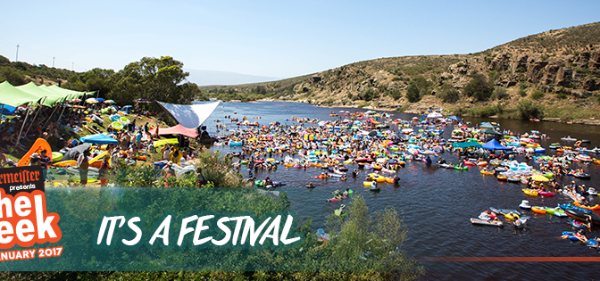 Jagermeister Up the Creek Festival 26 to 29 Jan 2017