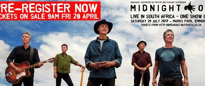 MIDNIGHT OIL Live In South Africa For One Show Only!
